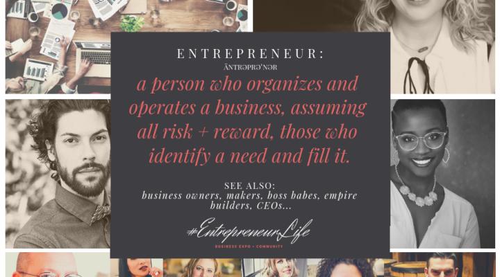 Entrepreneurs & Bosses @ the Expo