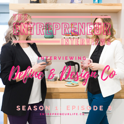 Social Media & Branding Help for Mompreneurs – Interviewing Experts, Mompreneurs & Podcasters, Melissa & Julia of Define + Design Co